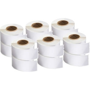 "Dymo LabelWriter 3-1/2""W Labels (Pack of 12 Rolls)"