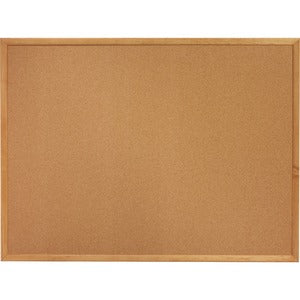 Lorell Oak Wood Frame Cork Board