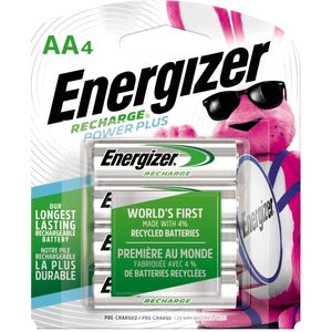 Energizer AA NiMH Rechargeable Battery (Pack of 4)