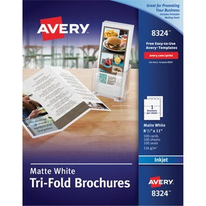 Avery&reg Inkjet Print Brochure/Flyer Paper (Box of 1)