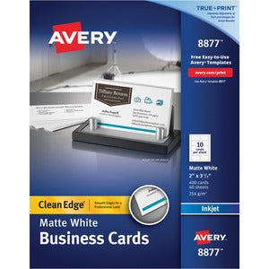 Avery&reg Business Card (Box of 4 Sheets)