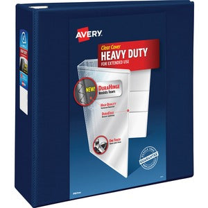 "Avery One-Touch EZD Ring Hvy-duty View Binders - 4"" Ring - 780 Sheet Capacity"
