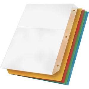 Cardinal Ring Binder Poly Pockets (Pack of 5)