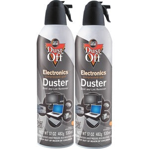 Falcon Dust-Off Jumbo Disposable Dusters (Pack of 2)