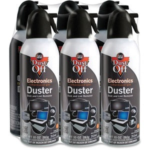 Falcon Dust-Off Compressed Gas Duster (Pack of 6)