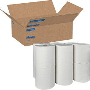Kimberly-Clark 1 Ply Nonperforated Hardroll Paper Towels (12 rolls of 425 ft)