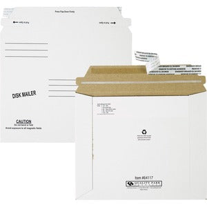 Quality Park Economy Disk/CD Mailers (Pack of 100)