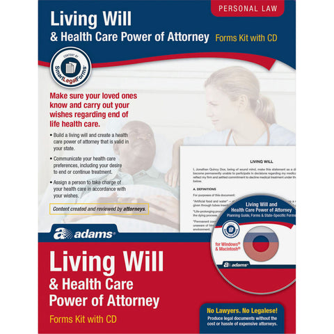Adams Living Will/Power of Attorney Forms (DEFAULT)