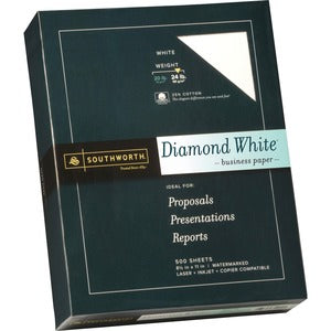 Southworth Diamond White Business Paper (Box of 500 Sheets)