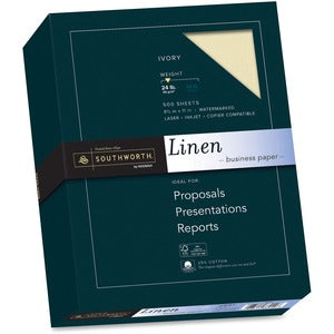 Southworth 24lb Ivory Linen Business Paper (Box of 500)