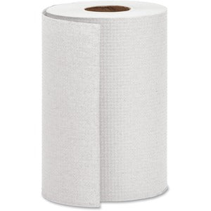 Genuine Joe 1 Ply Hardwound Roll Paper Towels (12 rolls of 350 Ft.)