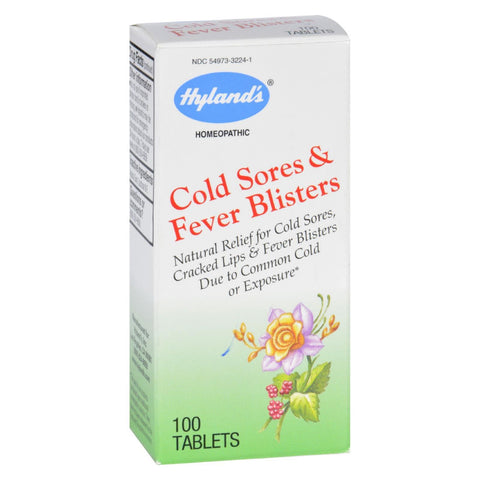 Hylands Homeopathic Cold Sores and Fever Blisters - 100 Tablets