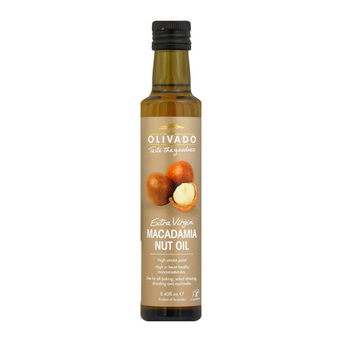 Olivado Macadamia Nut Oil - Case of 6 - 8.45 Fl oz.