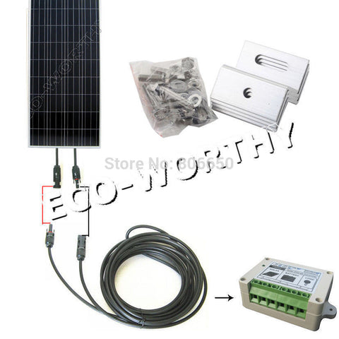150 Watt Solar Panel Complete Kit