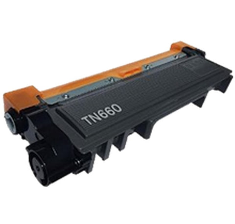 Compatible Brother TN660 High Yield Black Toner Cartridge (Single cartridge)