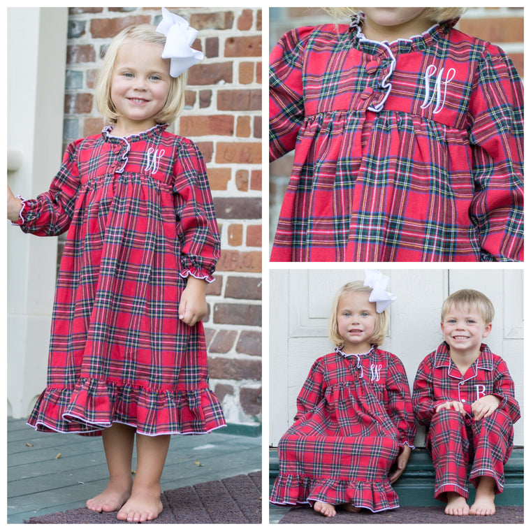 Christmas Morning Flannel Gown Pre-Order