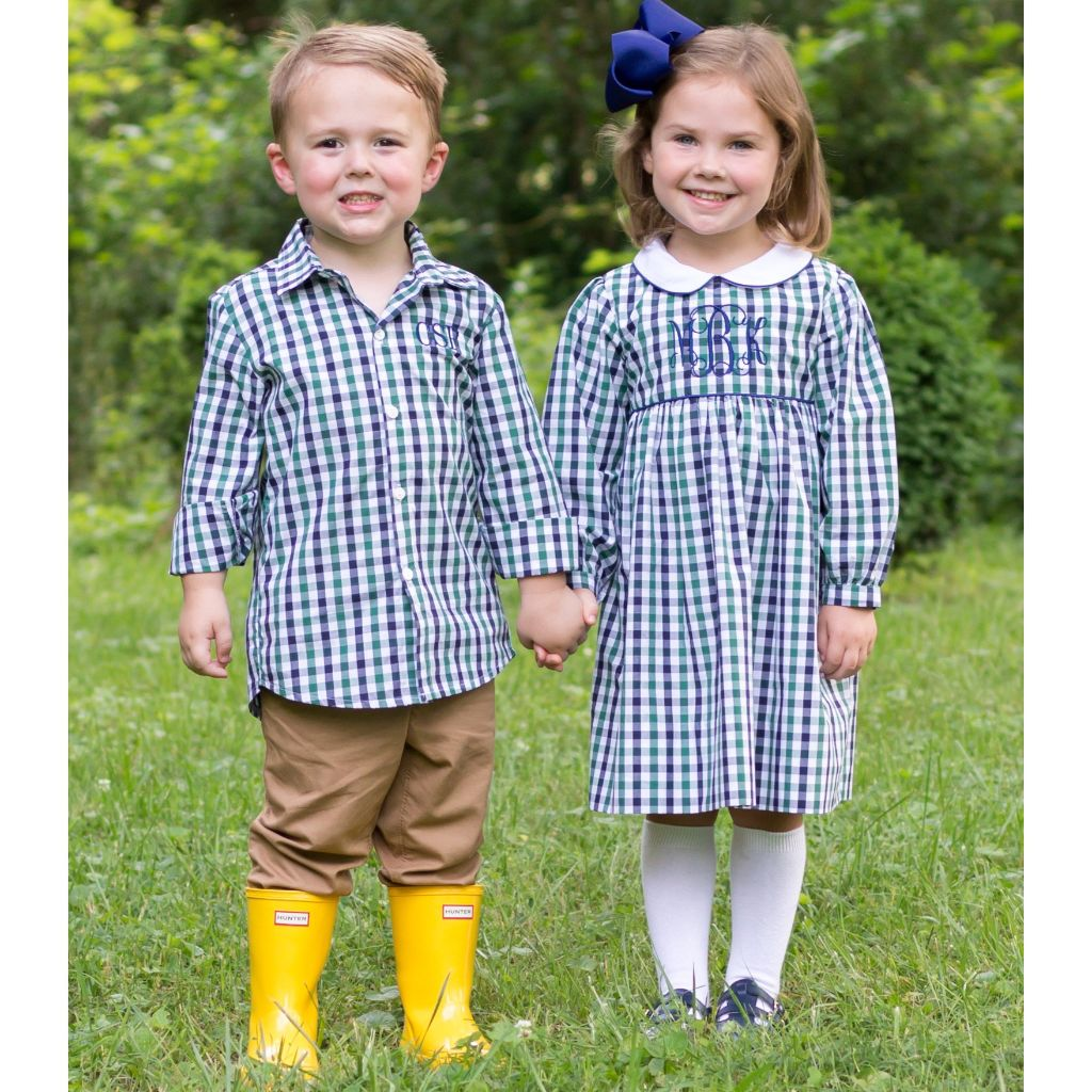 Matching Boy Girl Clothing Free Monograms