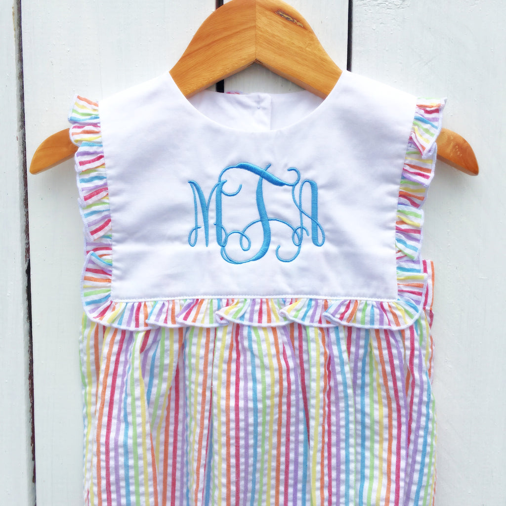 Free Monogrammed Children's Clothing