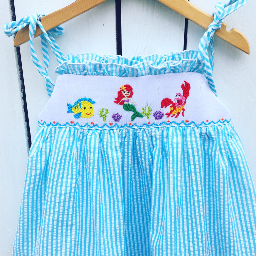 Smocked Under the Sea Dress