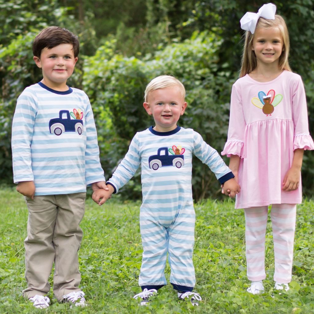 Matching Children's Clothing Thanksgiving Outfits for Boys and Girls