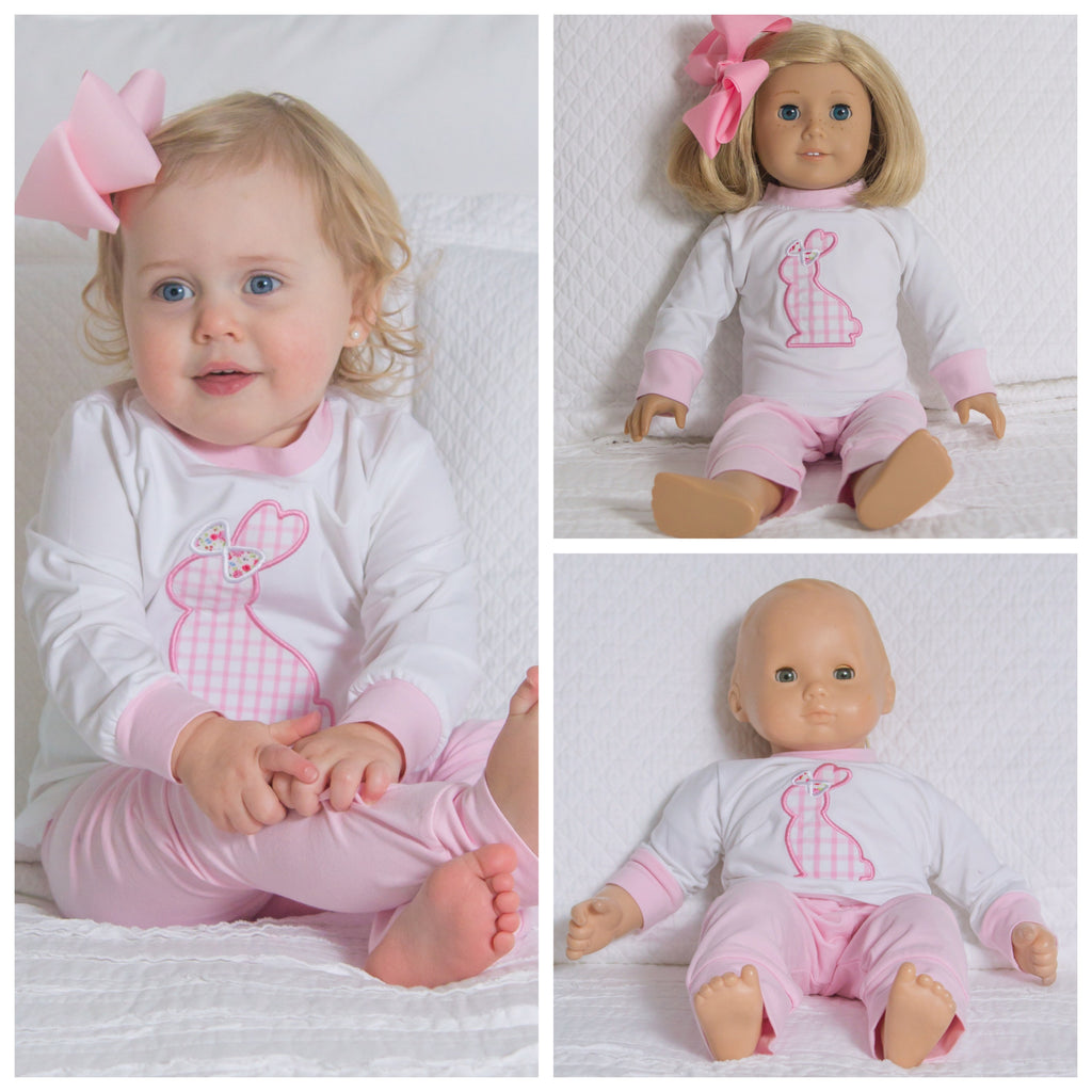 American Girl Doll Clothes Bitty Baby Doll Clothing Easter Bunny
