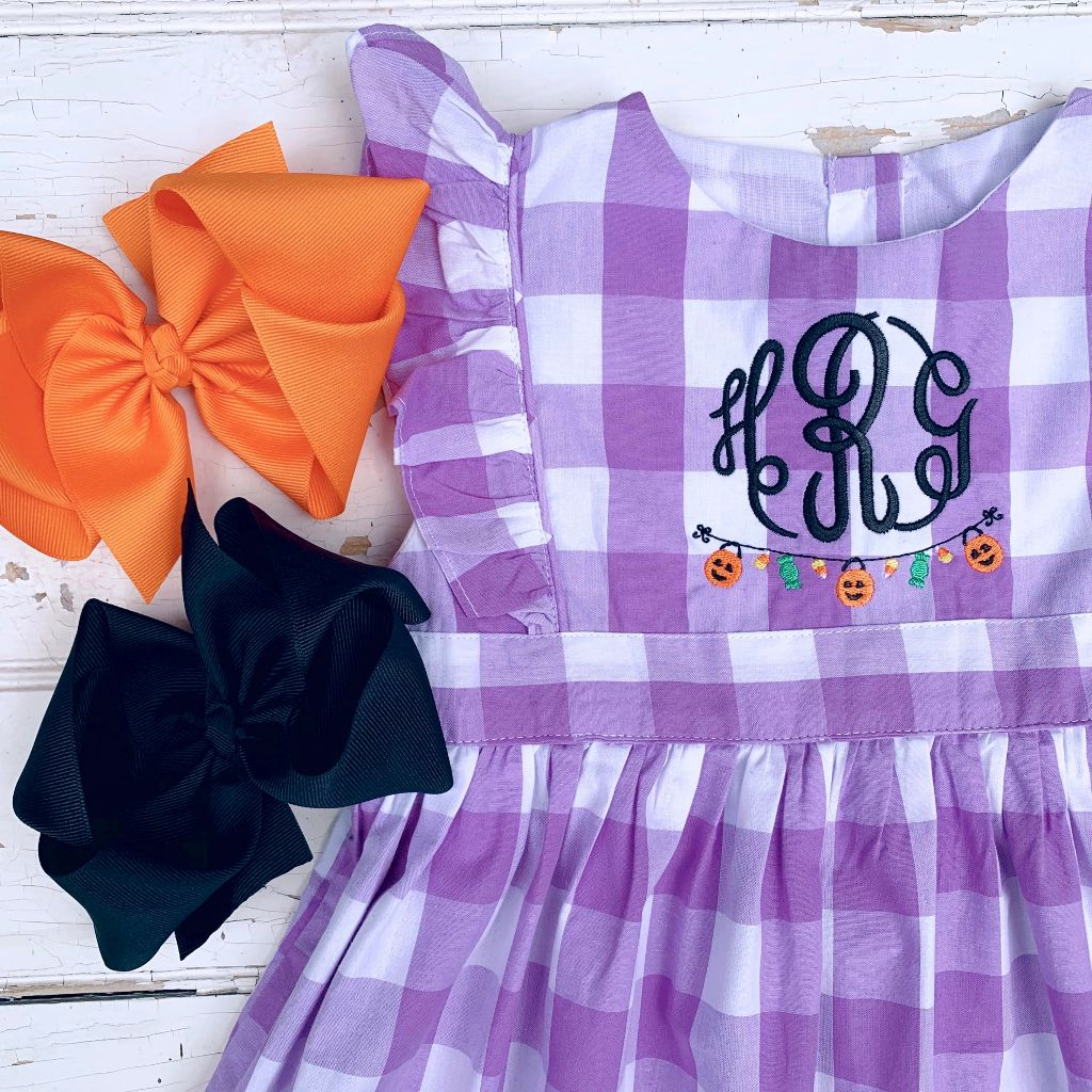 Trick or Treat Pinafore
