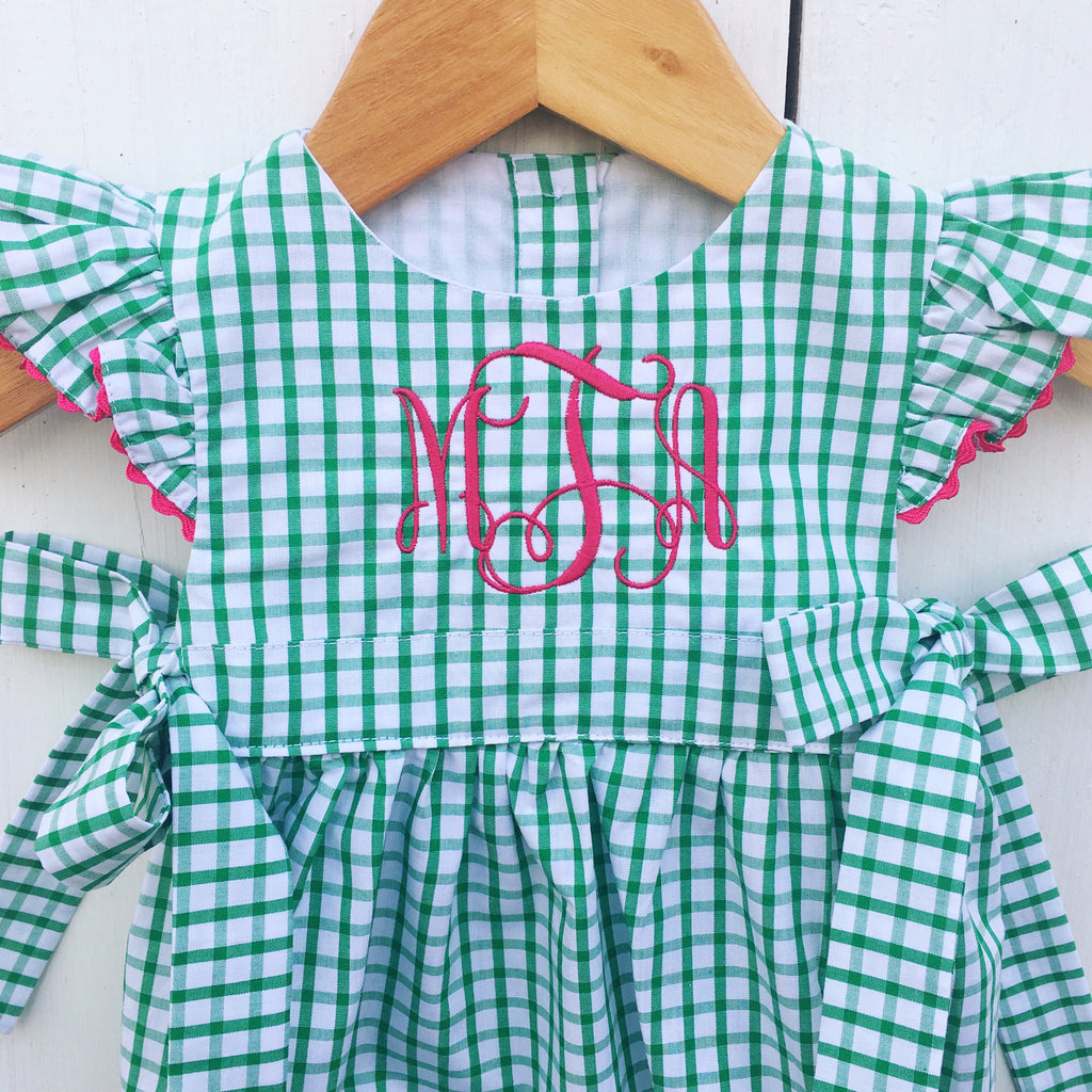 Classic Southern Children's Clothing Free Monograms