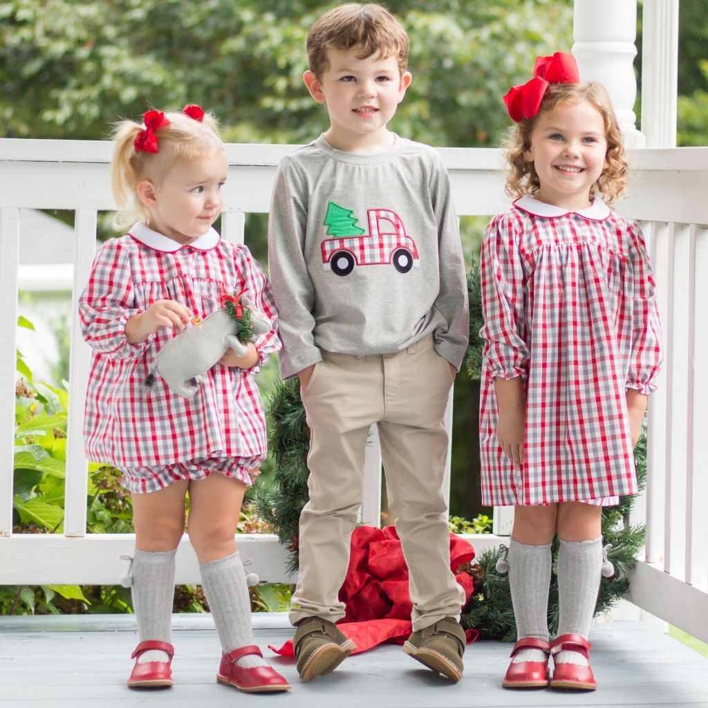 Matching Sibling Christmas Clothing Boy Girl Outfits