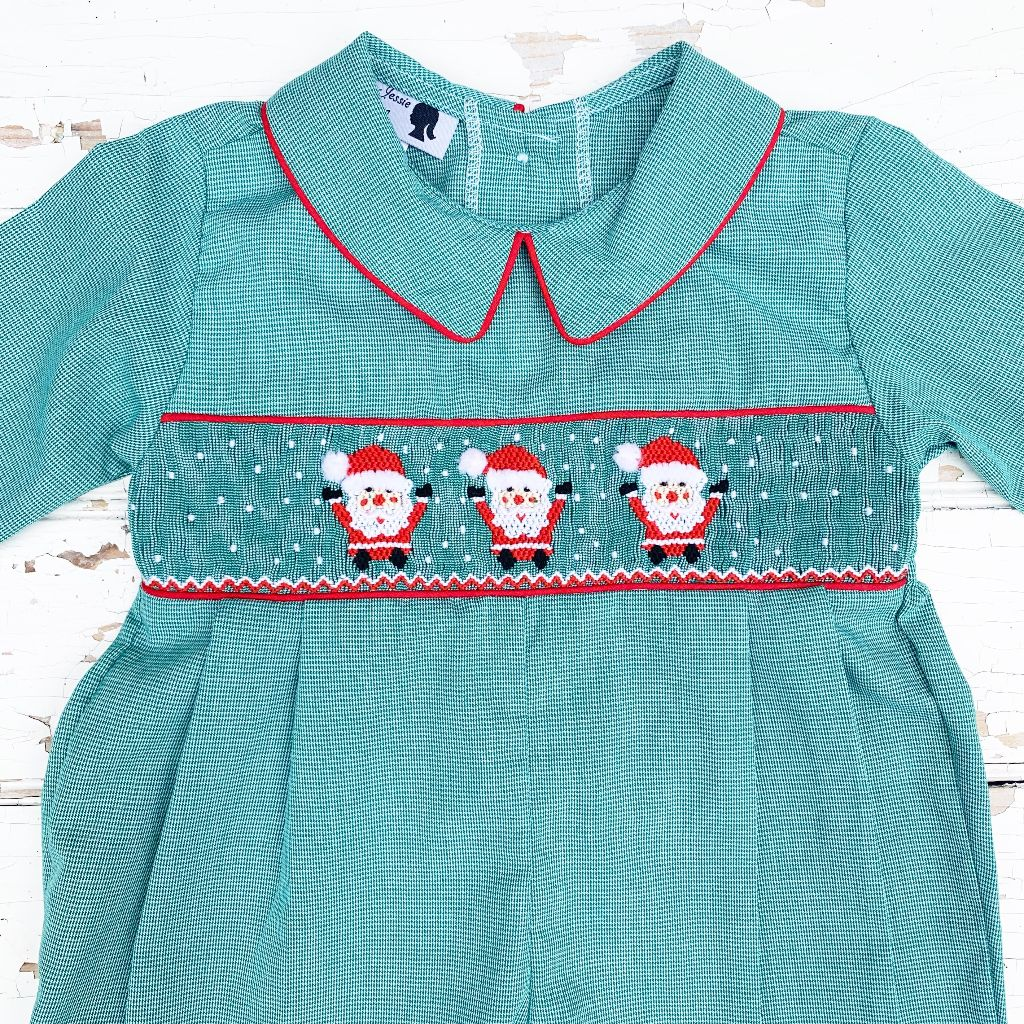 Boys Santa Claus Christmas Smock