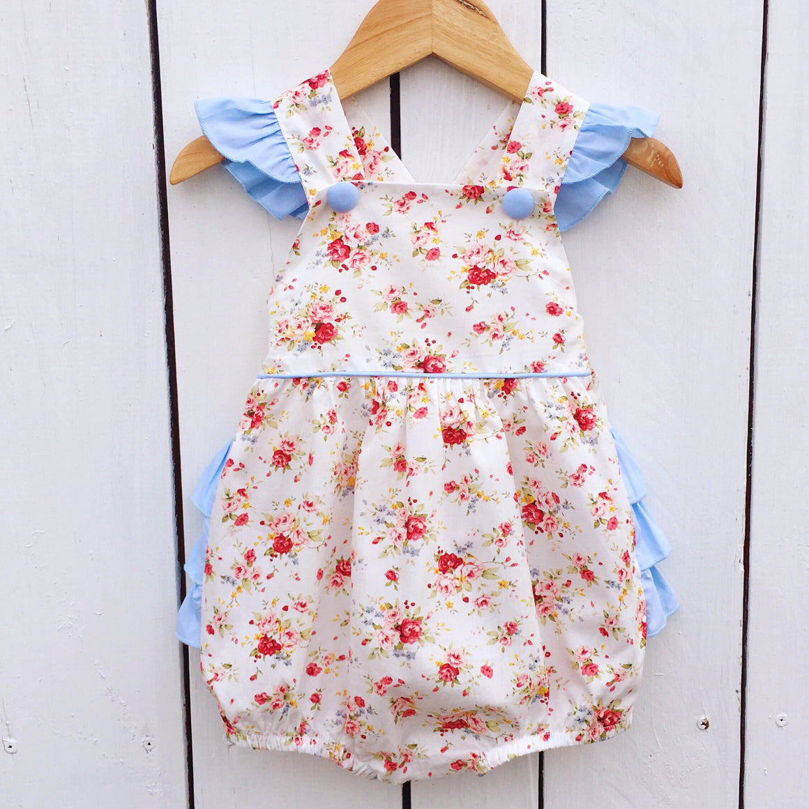 5c5f5d8a757 Smocked Bubbles and Rompers for Girls - Dressie Jessie Smocking