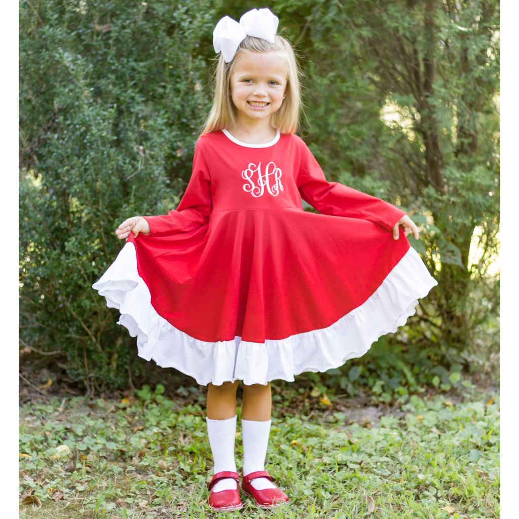 Holiday Twirl Dress