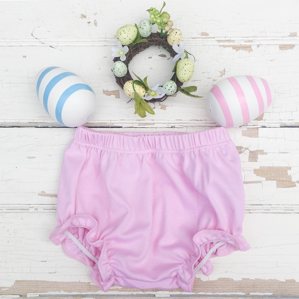 Pink Pima Cotton Bloomers