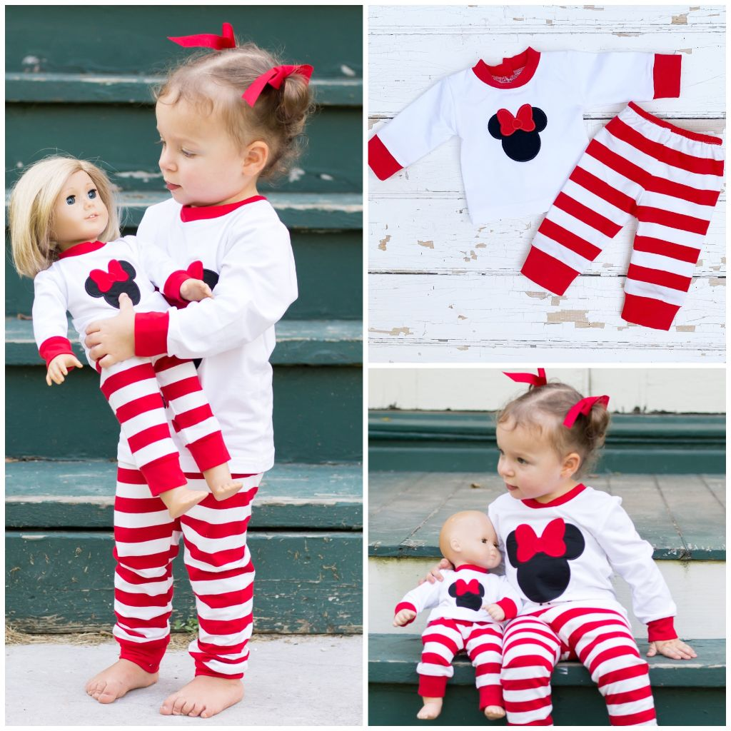 Disney Minnie Mouse Loungewear Pajamas
