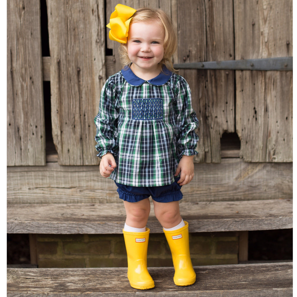 Highland Plaid Bloomer Set