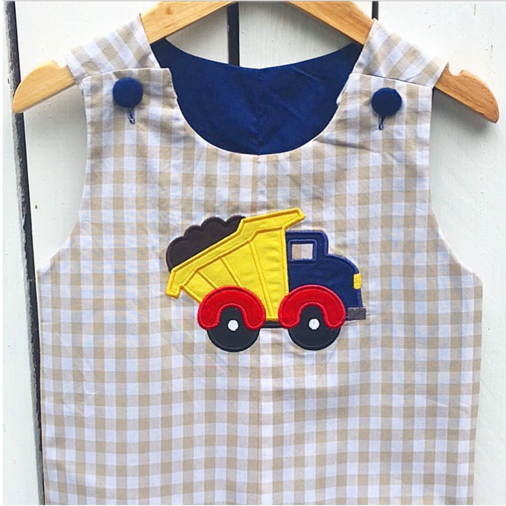 Reversible Turkey/Dump Truck Appliqué Longall