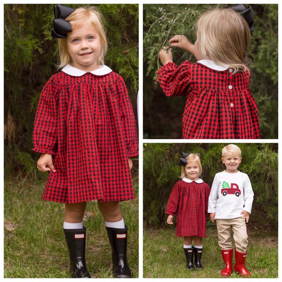 Country Christmas Dress Pre-Order