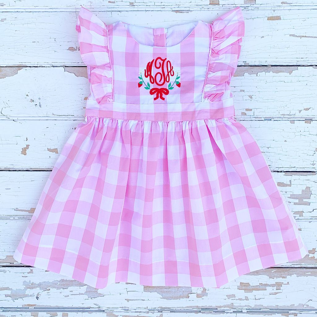 Berry Sweet Strawberry Pinafore
