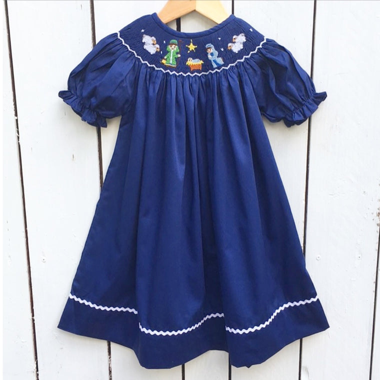 Smocked Nativity Bishop Pre-Order