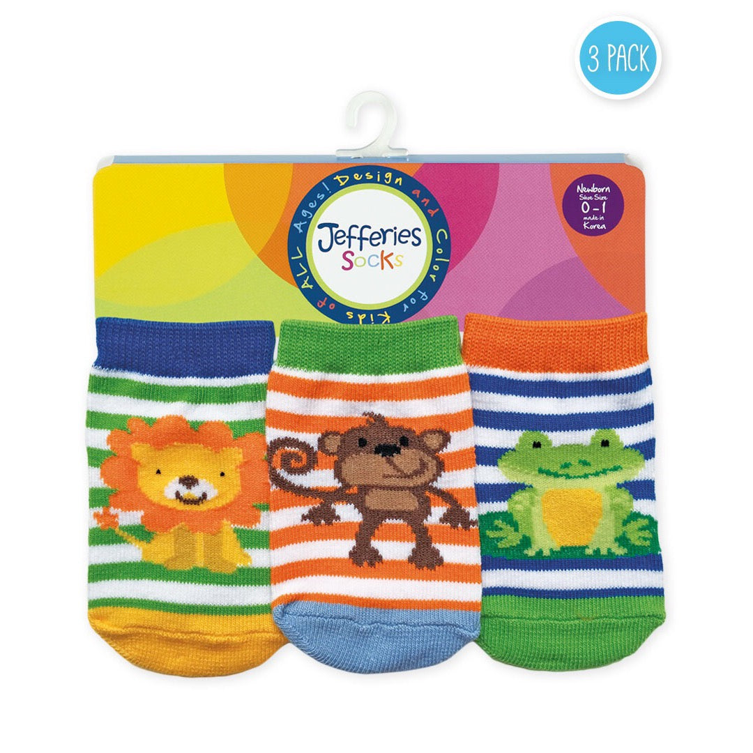 Jungle Animal Socks Set