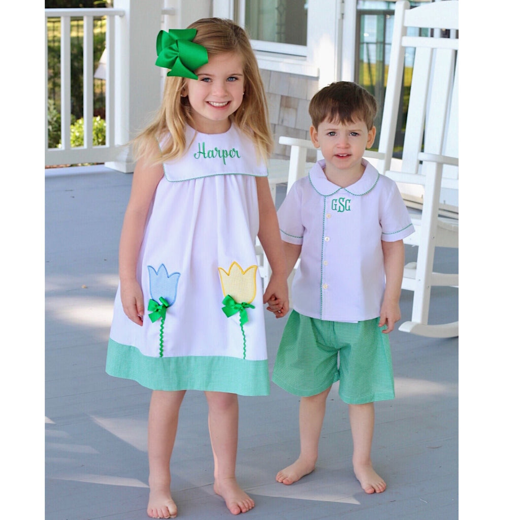 Classic Southern Children's Clothing Free Monogramming