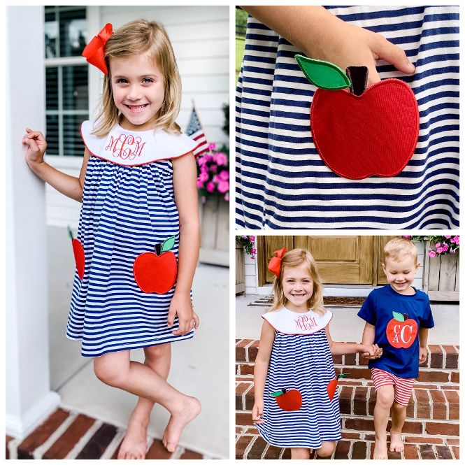 Apple Pocket Knit Dress Pre-Order