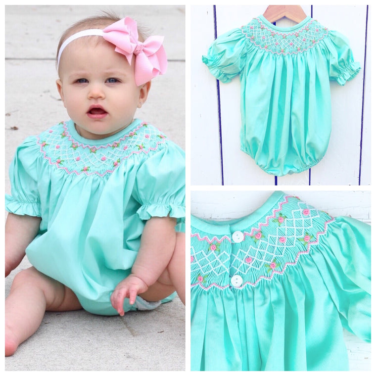 Smocked Mint Bubble