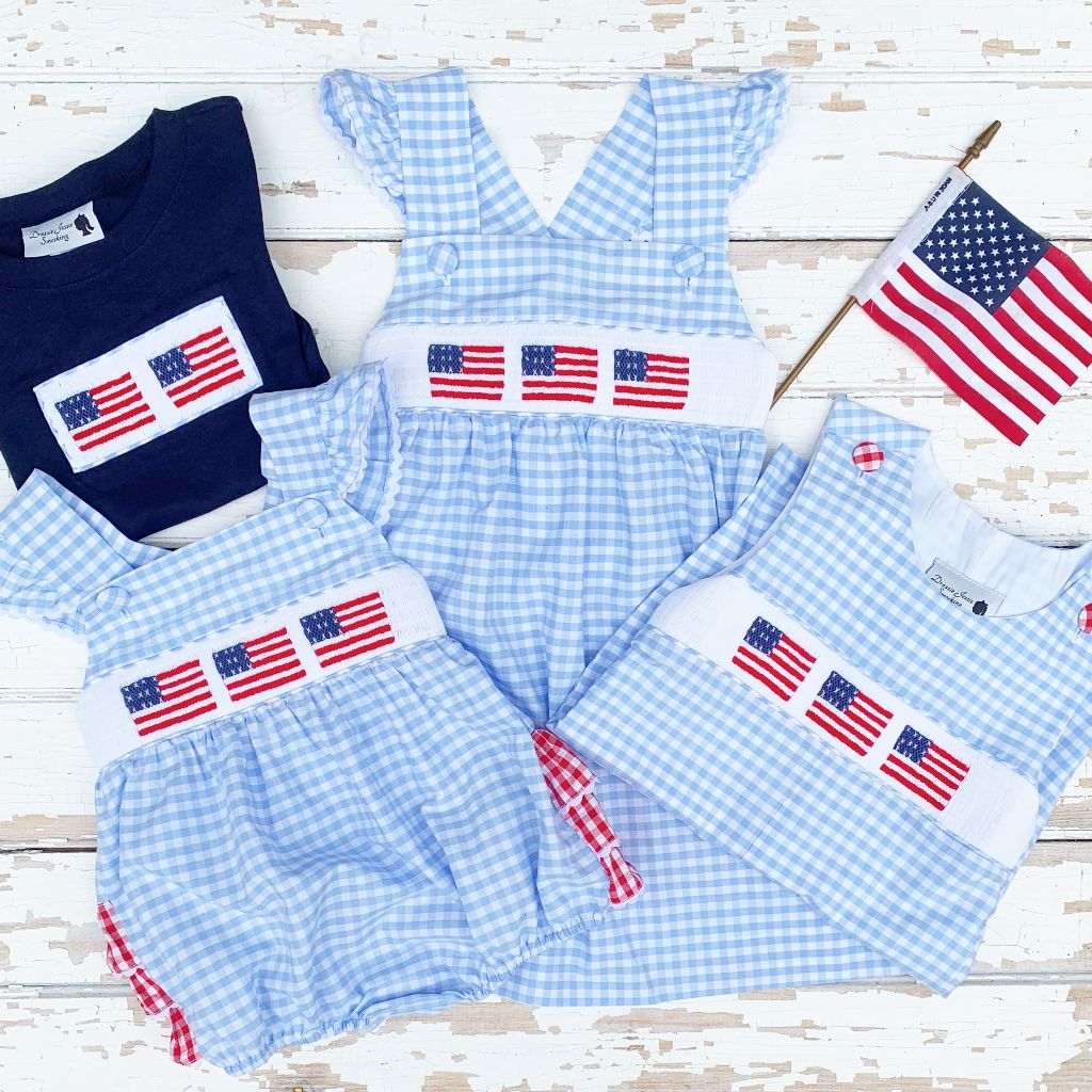 Smocked July 4th Clothes