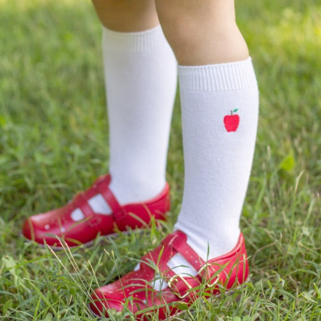 Apple Knee Socks