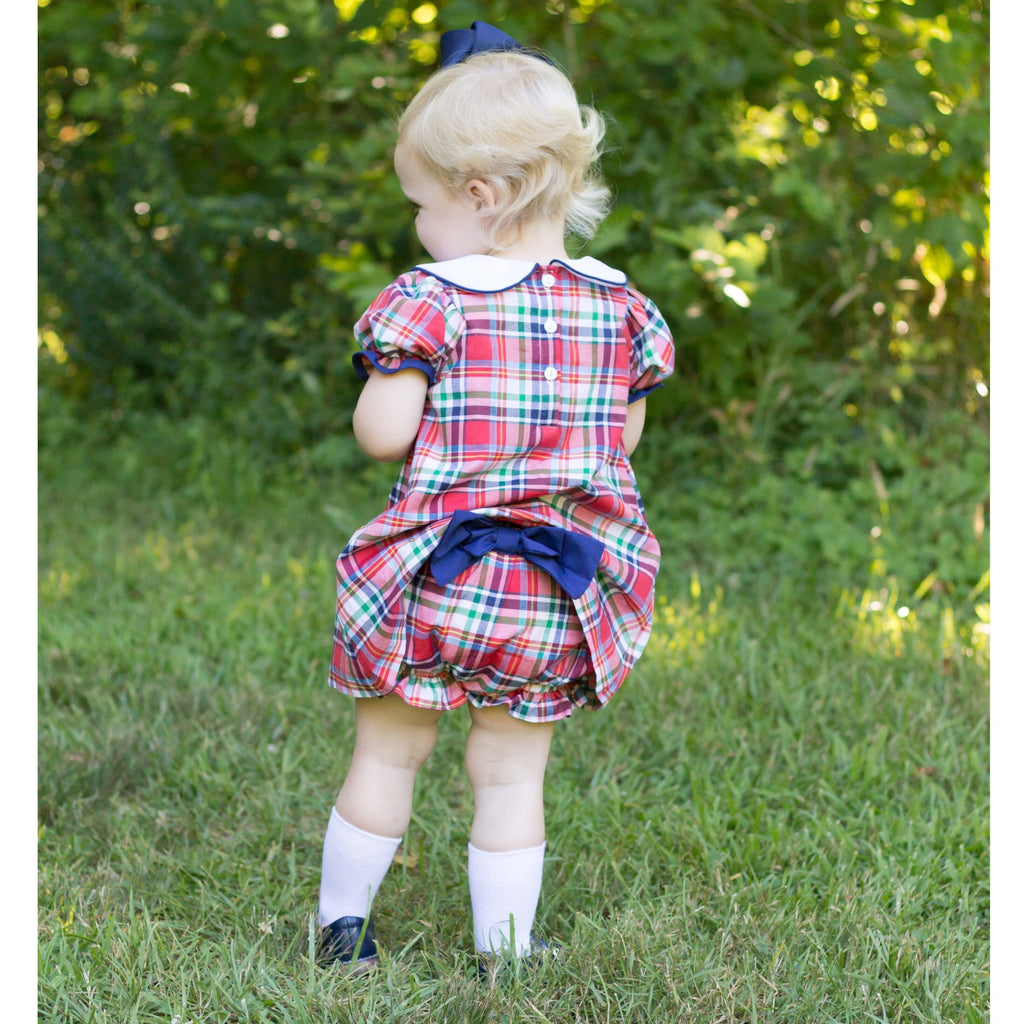 Richmond Plaid Dress and Bloomer Set