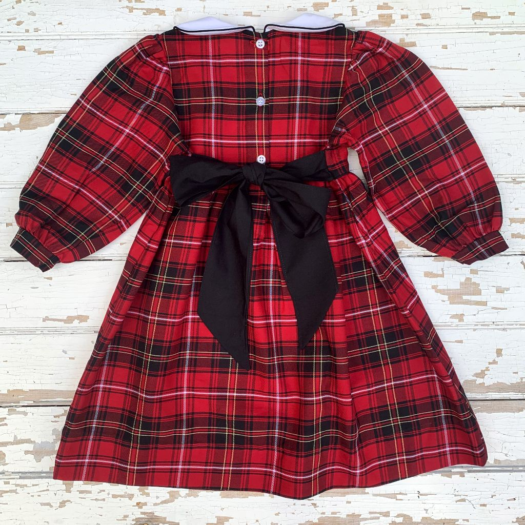 Deck the Halls Plaid Dress