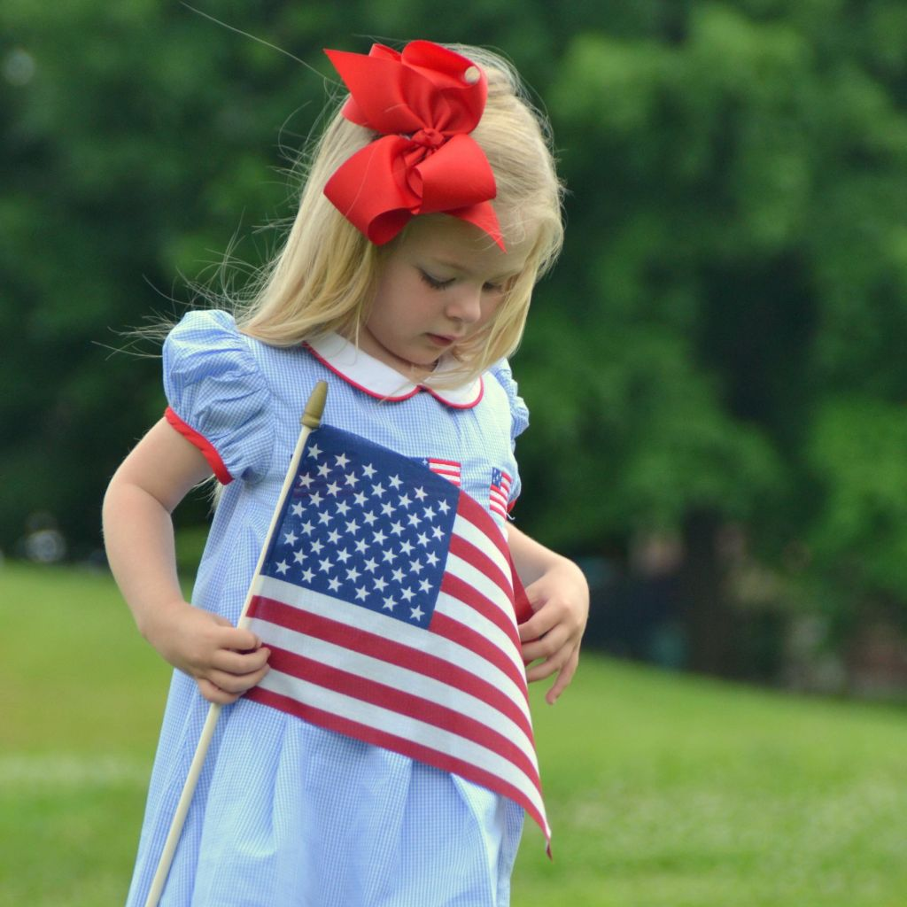 Patriotic Flag Dress