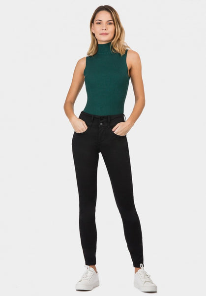 Tiffosi Black Sized Double Up Jeans