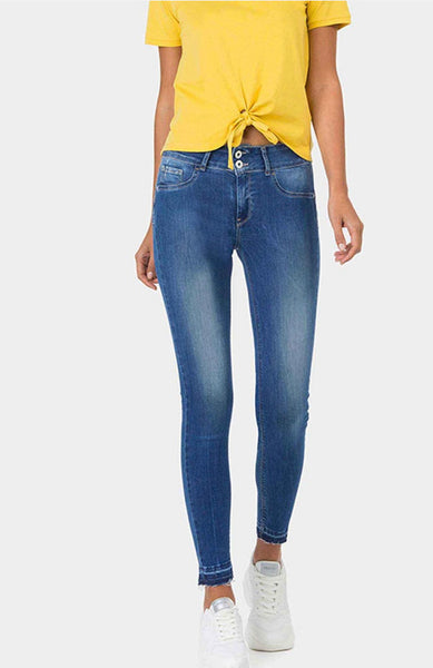Tiffosi ONE SIZE DOUBLE UP Denim Hem Detail