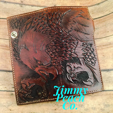 Eagle Handmade Leather Wallet